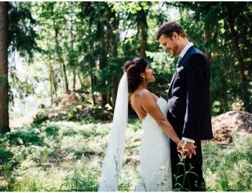 Bryllupet til Simen & Julie på Grimsrud Gård